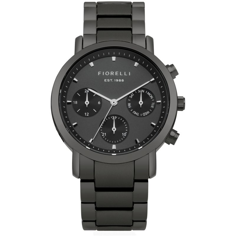 Ladies Fiorelli Chronograph Watch FO029BM