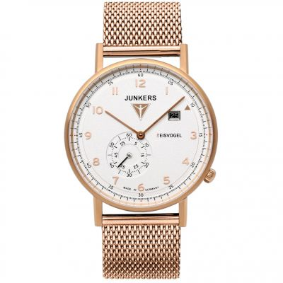 Junkers Eisvogel Herrenuhr in Rosa 6732M-4