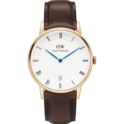 Daniel Wellington Dapper 34mm Bristol Damenuhr in Braun DW00100094