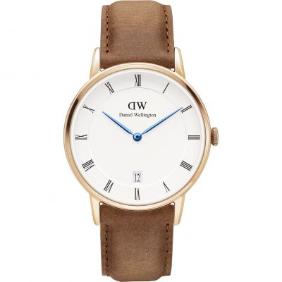 Daniel Wellington Dapper 34mm Durham Damenuhr in Braun DW00100113