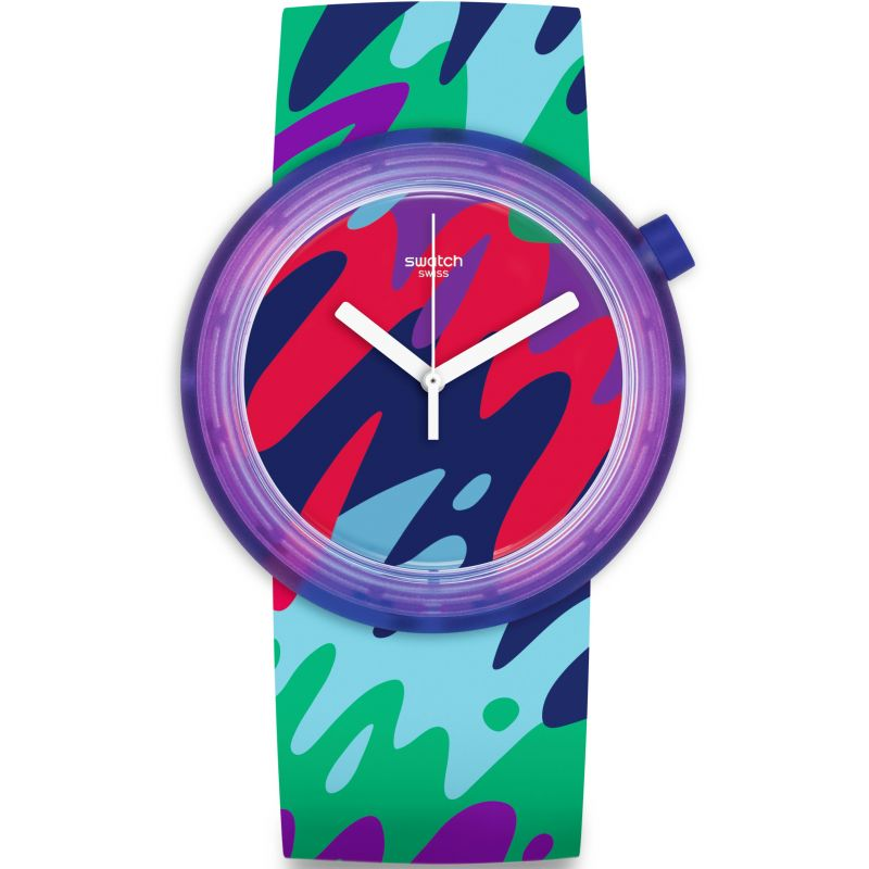 Ladies Swatch Pop-Thusiasm Watch PNP101