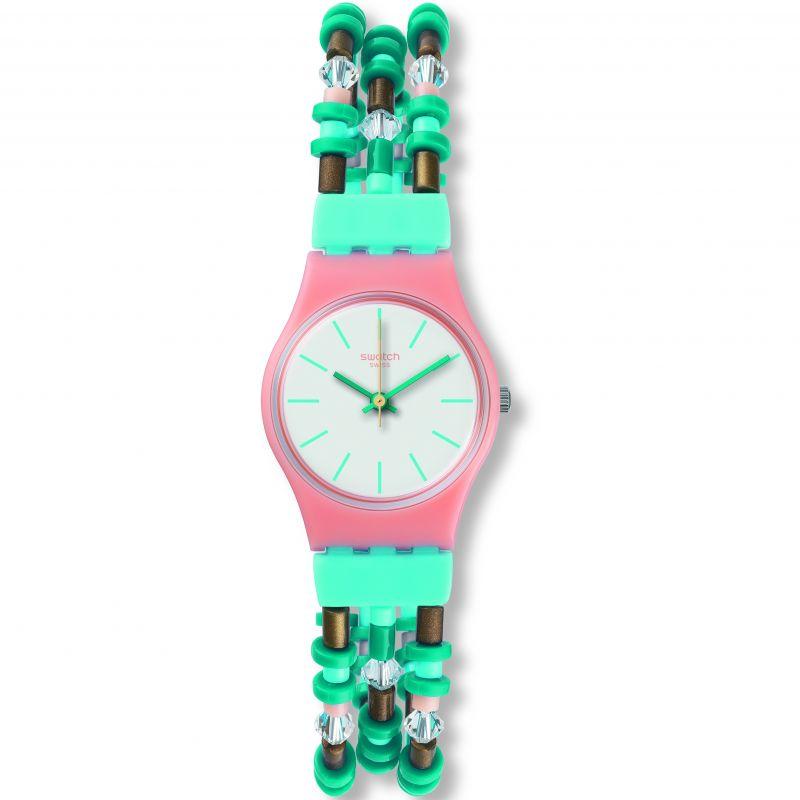Image of            Ladies Swatch Beadround S Watch