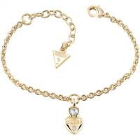 Ladies Guess Gold Plated Guessy Bracelet UBB82011-L