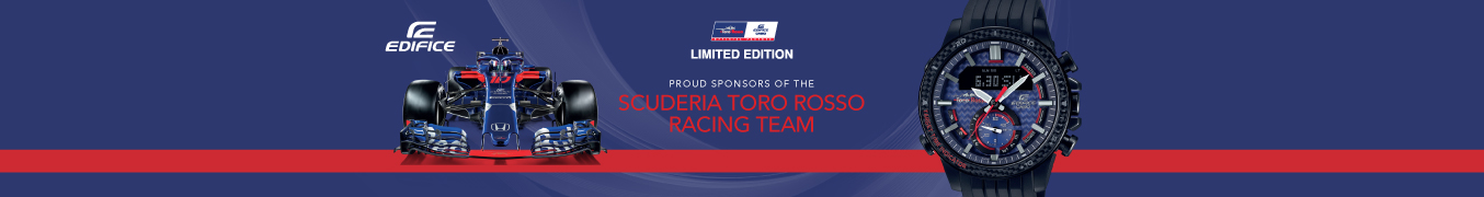 Edifice Toro Rosso Watches